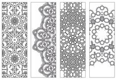 NEW | Bookmarks,Printable Intricate Mandala Coloring Pages,Instant Download,PDF,Mandala Doodling Page,Adult Coloring Pages,Kids Coloring by KrishTheBrand on Etsy