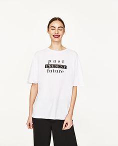 ZARA - 春夏コレクション - ビッグシルエットTシャツ