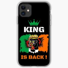 'King Is Back ! - Conor McGregor' Case/Skin for Samsung Galaxy by RIVEofficial Cool Phone Cases, Iphone Case Covers, Samsung Cases, Samsung Galaxy, Conor Mcgregor, Black Edition, Sell Your Art, Ufc, Cover Design