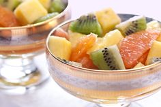 Zesty Lime and Ginger Winter Fruit Salad. This is the perfect way to satisfy that sweet tooth and get into that bikini. They suggest brown sugar as sweetener, I would choose organic raw honey instead. If out would use raw organic agave. Kiwi one of highest Vit. C sources, and grapefruit on the list of best weight loss tools out there. Something in grapefruit helps burn fat. Research has proven many time. Sad that just announced US will be selling GM0 pineapple now. Native Forest organic/non…