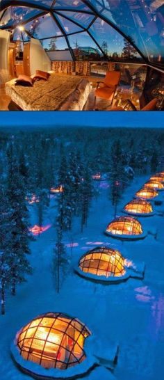 See the Northern Lights from Kakslauttanen Arctic Resort Finland