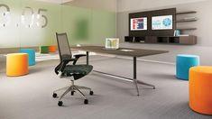 Intermix. Minimalista estilo que refleja las tendencias en espacios de trabajo de la actualidad, los espacios abiertos! #ImaginaDiseñaCrea