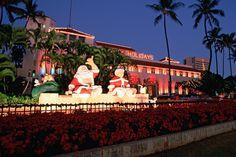 Christmas in Hawaii - Shaka from Santa