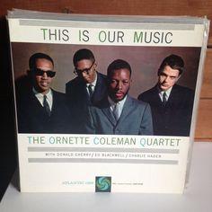 ORNETTE COLEMAN This Is Our Music LP 1960 Atlantic 1353 MONO original US press #PostBebop
