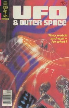UFO & Outer Space #17 (Gold Key 1978)