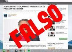 Aclaran supuesta muerte de Pedro Sola