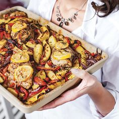 Greek Recipes, Paella, Chicken Wings, Vegetable Pizza, Food And Drink, Low Carb, Favorite Recipes, Vegetables, Cooking