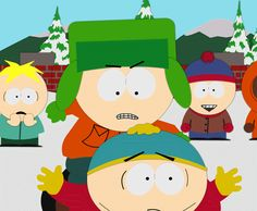 South Park Animated Gif 17 - Kyle Beats Cartman by Flip-Reaper-Z