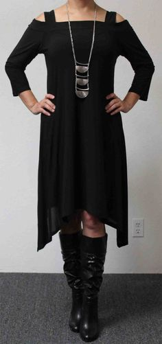 The Classic Travelers Plus size Tunic Dress with by Dare2bStylish, $39.00