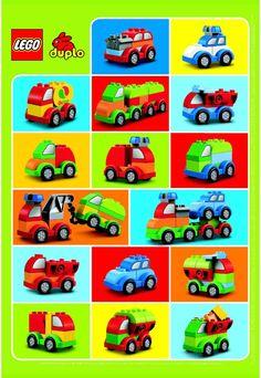 Duplo - Creative Cars [Lego 10552]