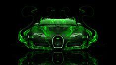 Gold Bugatti Veyron with Neon   bugatti veyron fantasy ...