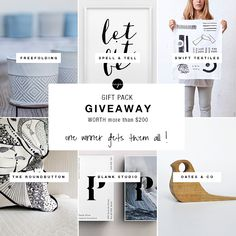 Gift pack GIVEAWAY worth $200 | My Paradissi
