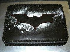 Simple and perfect Batman cake!