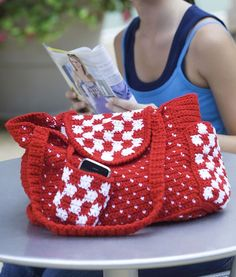 Everyday Tote  free crochet pattern