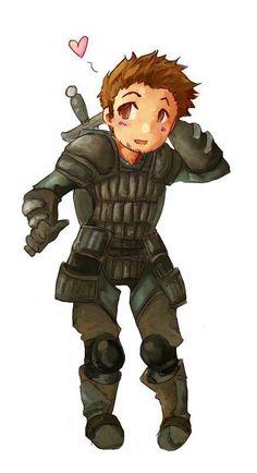 Dragon Age: Origins - Warden Alistair