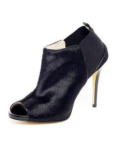 MICHAEL Michael Kors Genivee Calf Hair Open-Toe Bootie... My girlfriend just picked these up.  The picture doesn't do justice!!!!