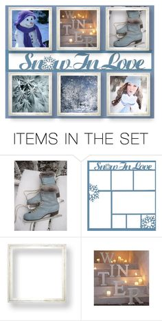 """Snow in Love"" by kathleensmith-i ❤ liked on Polyvore featuring art"