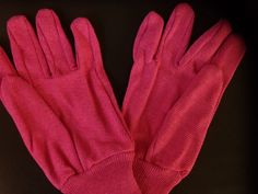 Ladies gardening gloves #pink 75% polyester 25% cotton Listing in the Gloves & Protective Gear,Tools & Equipment,Garden, Yard & Plants,Home & Garden Category on eBid United Kingdom