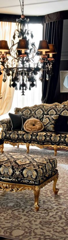 Beautiful sofa and chandelier. Colors are so lovely.