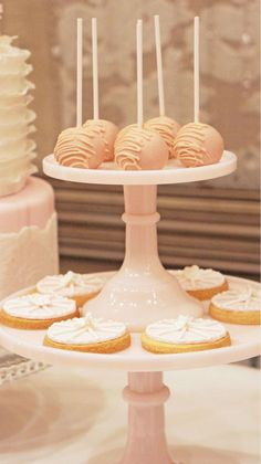 Cake pops and cookies by Sweet Bloom Cakes