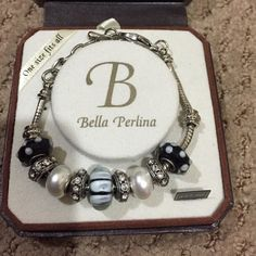 Bella Perlina bracelet Bella Perlina blue charm bracelet Jewelry Bracelets