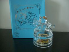 Rare 1999 Sanrio Hello Kitty 25th Unicorn Crystal Music box