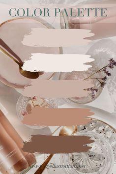 Color Schemes Colour Palettes, Neutral Colour Palette, Interior Colour Schemes, House Color Palettes, Room Colors, House Colors, Aesthetic Colors, Paint Colors For Home, Colour Board