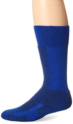 Thorlo Women's Comfort Ski Sock-Small-Laser Blue, Laser Blue, Small Made by #Thorlo Color #Laser Blue. Sock fibers #provide maximum insulation with #superior softness and moisture wicking durability. Unique padding in ball and heel to reduce pain by eliminating blisters and pressure points. Cushioned shin and instep reduce pressure on feet. Vent panels for extra moisture control. Low profile toe seam won't rub or irritate feet