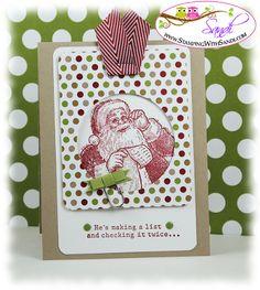 Santa's List by Sandi @ www.stampingwithsandi.com