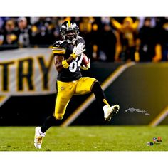 Antonio Brown Pittsburgh Steelers Fanatics Authentic Autographed 16   x  20   High Step d9be2c859