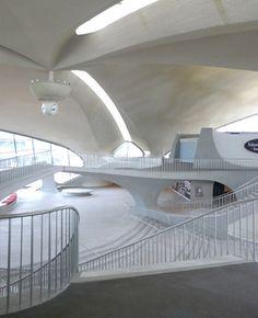 JFK, TWA terminal by Eero Saarinen, 1962