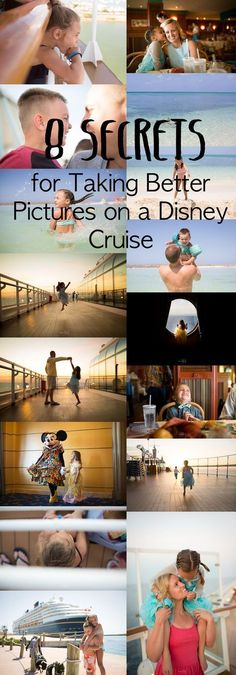 8 Secrets for Taking Better Pictures on Your Disney Cruise Are you heading on a Disney Cruise? Do you want to know my 8 secrets for taking better pictures Disney Wonder Cruise, Disney Fantasy Cruise, Disney Dream Cruise, Disney Cruise Ships, Disney Vacations, Disney Land, Disney Travel, Walt Disney, Tips And Tricks