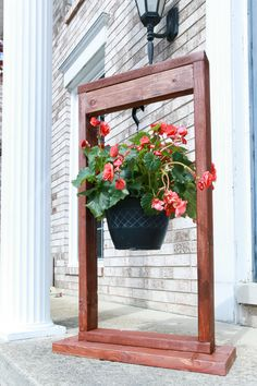 DIY Hanging Plant Stand for Outdoor Decorating-2