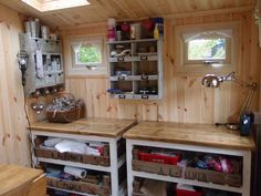 Shedworking: Catherine Simpson's 'Wendy House'