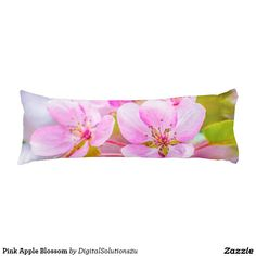 Pink Apple Blossom Body Pillow