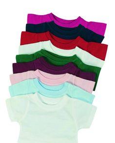 Mumbles Puppen/Teddy Mini T-Shirt. Die Farbe sublimation white ist aus Polyester. Die Gewährleistung beträgt bei Neuware gegenüber dem Verbraucher zwei Jahre. Die Maße: 15 cm breit x 13,5 cm lang. auch als Flaschenshirt sehr gut geeignet. | eBay!