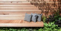 Clever design of seating and planting maximise space in this small city focussed garden design