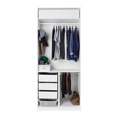 PAX Armario - bisagra cierre suave, 100x60x236 cm - IKEA