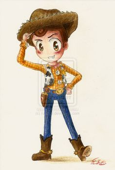 *WOODY ~ Toy Story....by *rue789 on deviantART