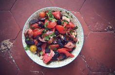 Salade de tomates au chorizo – Recette