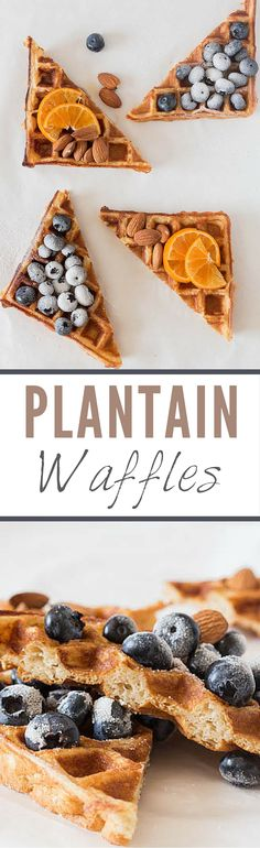 Quick and easy **Plantain Waffles Recipe ** - Recipes From A Pantry