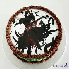 Naruto. Itachi cake! Gotta have this cake!