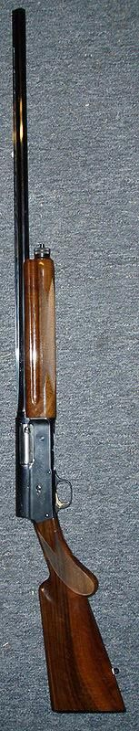 Browning Auto 5  The John Browning-designed Auto 5 was the first successful recoil operating action for a semi-auto shotgun.