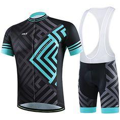 Amazon.com   Xinzechen Men s Short Sleeve Cycling Jersey and Bib Shorts  Sets   Sports   Outdoors 648e7facf