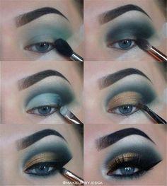 Gorgeous Makeup: Tips and Tricks With Eye Makeup and Eyeshadow – Makeup Design Ideas Eye Makeup Steps, Smokey Eye Makeup, Makeup For Brown Eyes, Skin Makeup, Eyeshadow Makeup, Eyeshadows, Makeup Brushes, Makeup Remover, Natural Smokey Eye