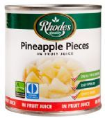 Rhodes Pineapple Pieces in Fruit Juice