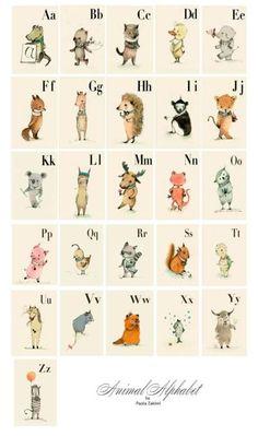 Paola Zakimi animal alphabet