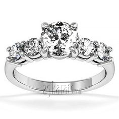 Timeless Basket Setting Diamond Engagement Ring (1/5 ct. t.w.)