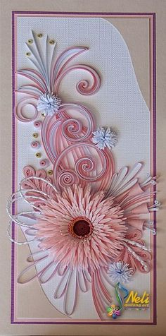 Neli is a talented quilling artist from Bulgaria. Her unique quilling cards bring joy to people around the world. Arte Quilling, Quilling Letters, Quilling Work, Quilling Paper Craft, Quilling Designs, Quilling Cards, Paper Crafts, Quilling Flowers Tutorial, Quilled Creations