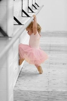 This isn't me, but, I also took ballet lessons from my Aunt Betty as well.